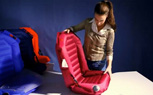 Inflatable Easycarseat The Future Of Children's Car Seats (Video)