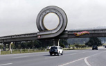 Coolest Ad Ever: Hot Wheels Loop On Highway Overpass