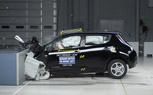 Nissan Leaf, Chevy Volt Earn Top Safety Pick Status from IIHS