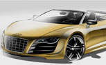 Audi R8 GT Spyder Revealed In Sketches