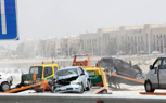 Massive 127-Car Pileup In Abu Dhabi Leaves One Dead, 61 Injured