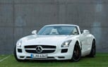 2012 Mercedes SLS AMG Roadster Unveiled