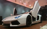 Lamborghini Aventador Assembled Inside Museum [Video]