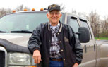 Retired Ford F-350 Owner Reaches Mileage Landmark