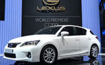 2011 Lexus CT200h Receives IIHS Top Safety Pick Award