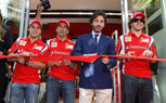 Ferrari Opens First Official Store In Spain