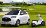 Geely McCar Comes with its Own Electric Scooter in the Trunk