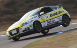 Honda CR-Z Goes Up On Two Wheels [Video]