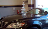Lexus Re-Creates Champagne Glass Stunt 21 Years Later [Video]