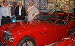 For Two Hours, Vintage Car Collector Opens Garage To The Public For Charity