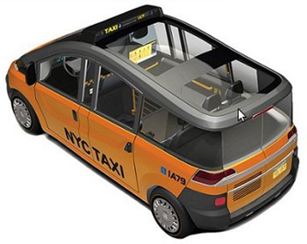 Nissan NV to Replace Ford Crown Vic as Official New York City Taxi
