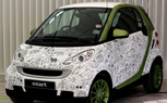 Smart ForTwo Illustrated With Futuristic Tweets