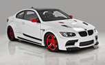 Vorsteiner Builds Candy Cane-Themed Widebody BMW M3