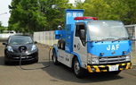 Nissan Testing Roadside Assistance Charger Vehicle for EVs in Japan