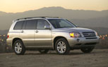 Toyota Highlander Hybrid, Lexus RX400h Recalled to Replace Hybrid Transistors