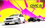 2012 Honda Civic Si Video Highlights New Features With Animated Graphic Novel Style