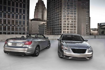 2011 Chrysler 200 S convertible and sedan