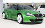Skoda Fabia vRS S2000 Roadster is a Drop Top Rally Car