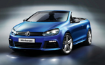 Volkswagen Golf R Cabriolet Concept Debuts at Worthersee GTI Meet