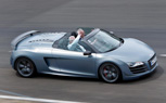 Audi R8 GT Spyder Debuts in Awesome Matte Blue Finish at Le Mans