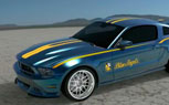 Blue Angels Ford Mustang GT Teased Ahead of Young Eagles Auction [Video]