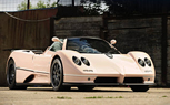 Pink Pagani Zonda Roadster To Be Auctioned at Goodwood: Paris Hilton Not Involved