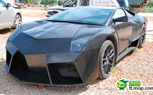 Fake Chinese Lamborghini Reventon Tossed In the Impound Yard