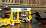 London Boaters in for a Treat with World's First Amphibious Ice Cream Truck