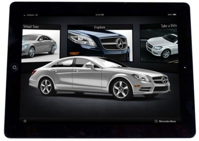 Introducing the Mercedes-Benz MY '12 CLS-Class iPad App