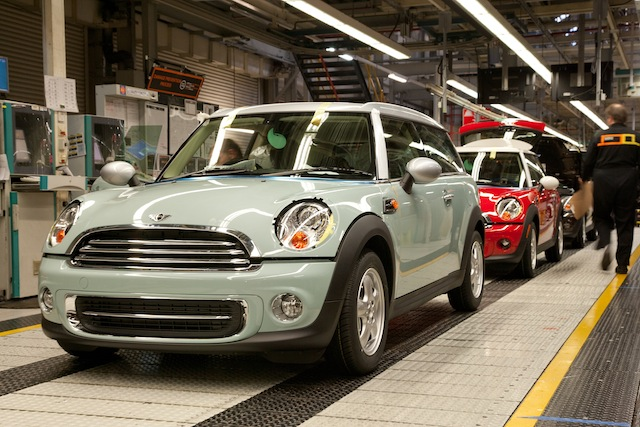 BMW To Expand Mini Production In UK