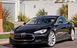 Tesla Shows Off Model S Alpha, Comes Dressed to Impress