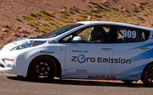 Nissan Leaf Takes Electric Production Class Win At Pikes Peak