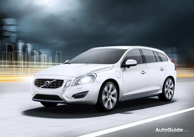 Volvo V60 Plug-In Hybrid Coming To U.S.