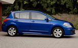 New 2012 Nissan Versa Hatchback Same as The Old One: Priced from $14,380