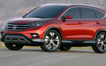 2012 Honda CR-V Revealed with Dramatic New Look