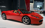 Ferrari 458 Italia Spider Rendered