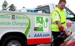 AAA Trucks Now Equipped To Charge Electric Vehicles