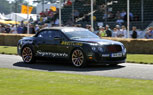 Bentley Ice Racer Takes On The Hillclimb Challenge At Goodwood