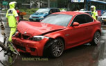 BMW 1M Wrecked In South Korea
