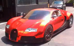 Dartz's Wraps Bugatti Veyron In Red Chrome [Video]