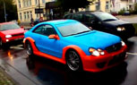Gulf-Themed Mercedes CLK AMG DTM Is Not A Pretty Sight