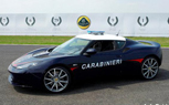 Lotus Evora S Police Cars Now Hunting Exotics in Italy