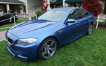 2012 BMW M5 Makes Surprise Appearance at Pebble Beach Concours d'Elegance