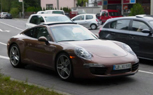2012 Porsche 911 Spied Completely Undisguised [Video]
