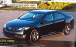 2012 Toyota Camry Leaked: Full Specs and Photos