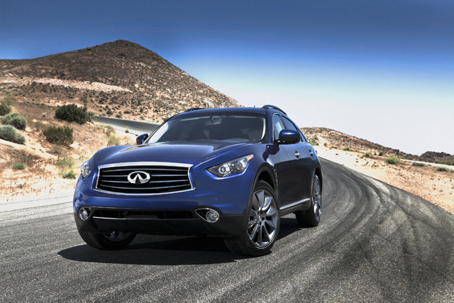 Sebastian Vettel Edition Infiniti FX Rumored for Frankfurt Debut