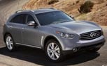 2012 Infiniti FX Facelift Unveiled [Photo Gallery]