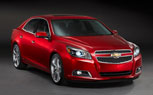 2013 Chevrolet Malibu Will Be Brand's European Flagship