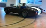 Shelby Cobra Does Donuts in the Living Room [Video]
