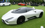 Shelby Supercars SSC Tuatara Looks the Part on the Concept Lawn at Pebble Beach